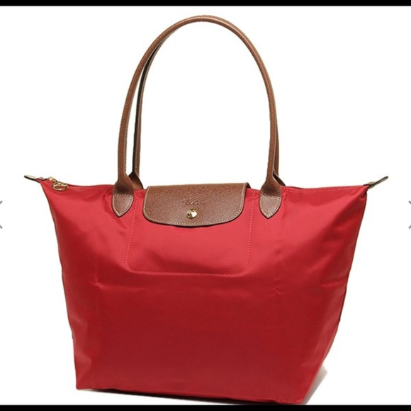 f7551126f461c Longchamp Handbags - Longchamp Le Pliage Large Tote Rouge New!
